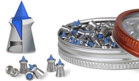 Plombs 4.5 Gamo BLUE FLAME (0.34 gr)