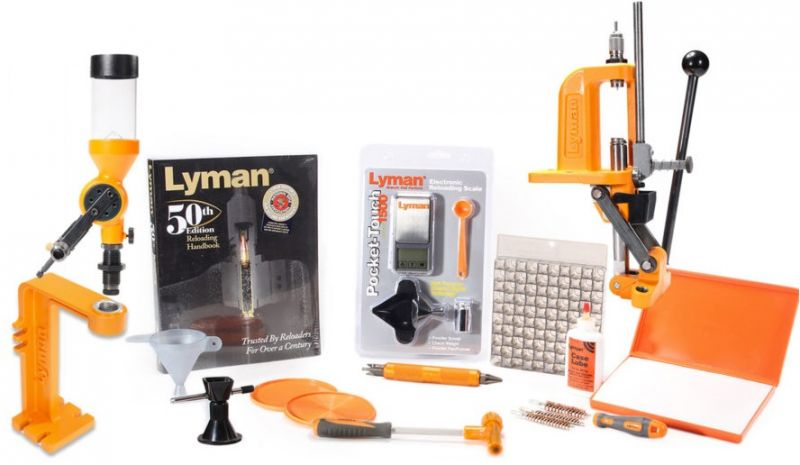 Kit de rechargement LYMAN BRASS SMITH VICTORY Reloading Kit