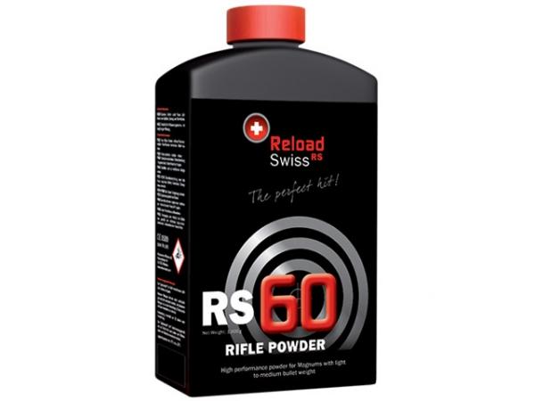 Poudre RELOAD SWISS RS60 (bidon de 1kg)