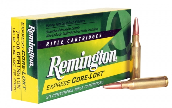 REMINGTON cal.7mm-08 Rem PSP Core Lock 140 grains - 9.1 grammes