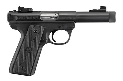Pistolet RUGER MARK III Target Filet� Bronz� 5 1/2