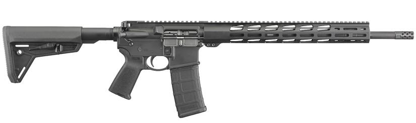 RUGER AR-556 MPR Magpul MOE Black 18
