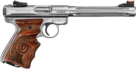 Pistolet RUGER MARK III Hunter Target 6 7/8 calibre 22 Lr