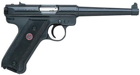 Pistolet RUGER MARK III Standard Bronzé 6