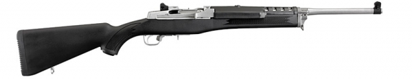 RUGER Mini-14 Ranch Inox Synt�tique cal.222 Rem (r�p�tition manuelle cat.C)