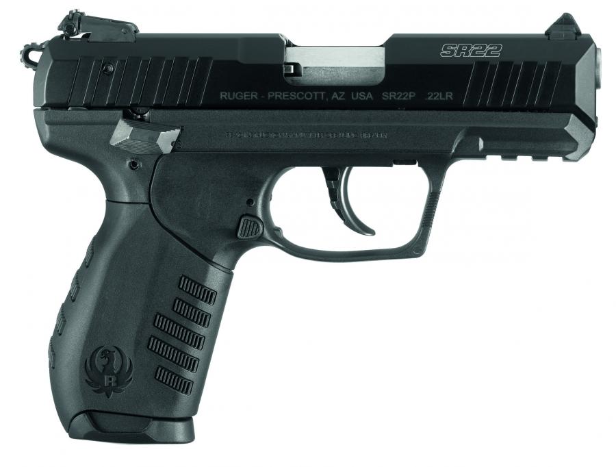 Pistolet RUGER SR22 standard 3.5
