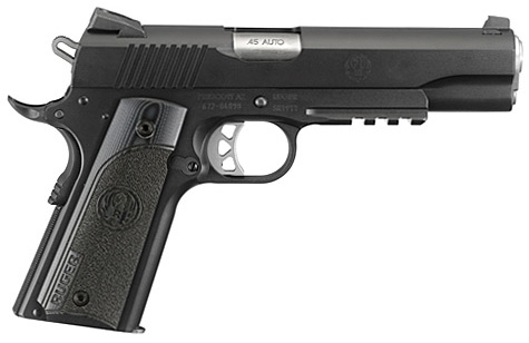 Pistolet RUGER SR1911 Tactical Deluxe G10 calibre 45 ACP