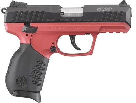 Pistolet RUGER SR22 Rouge Titanium 3.5