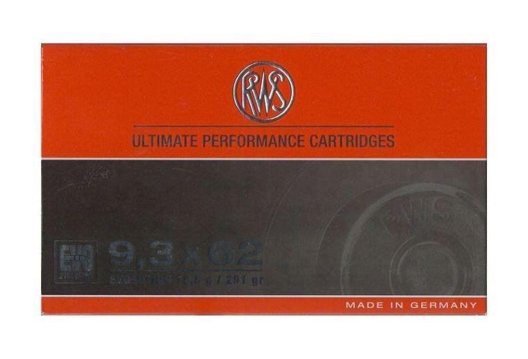 RWS 9,3x62 EVO 18,8g