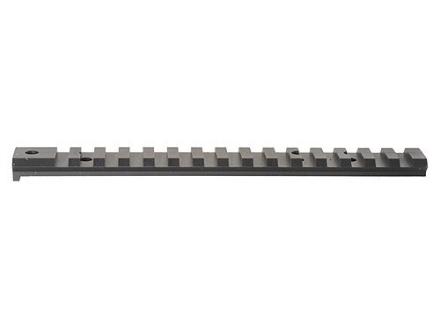 Rail acier picatinny noir pour SAKO TRG 22/42