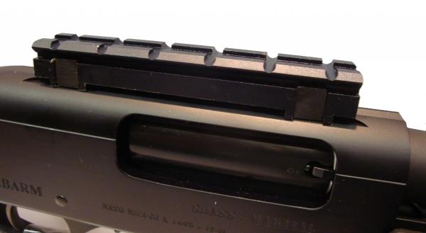 Montage rail de 21 mm pour fusil à pompe FABARM SDASS