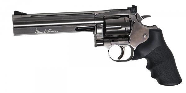 Revolver DAN WESSON 715 Chrom� Noir 6'' ASG cal.4,5mm