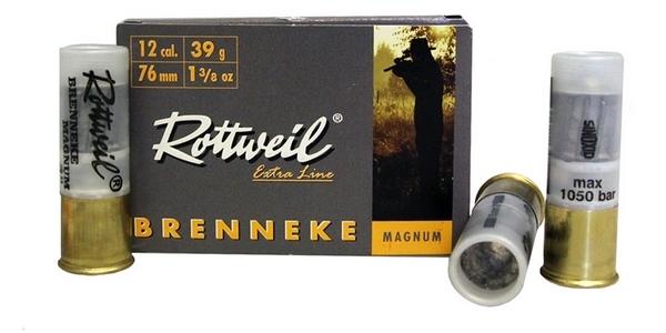 Balles ROTTWEIL Brenneke Magnum cal.12/76 (boite de 5)