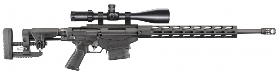 Ruger Precision Rifle Tactical cal.308 win ''Pack Sniper Hawke 6-24x56 SR Pro""