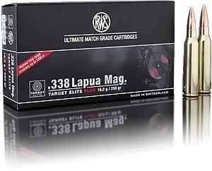 RWS 338 Lapua Mag Target Plus Match HPMT
