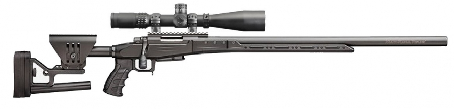 "SABATTI STR Sport Noire cal.308 win ''Pack Sniper Hawke 8-32x56 SR Pro"""