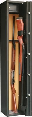 Coffre INFAC Sentinel 4+1 armes avec lunette - coffre int�rieur (42 kg)