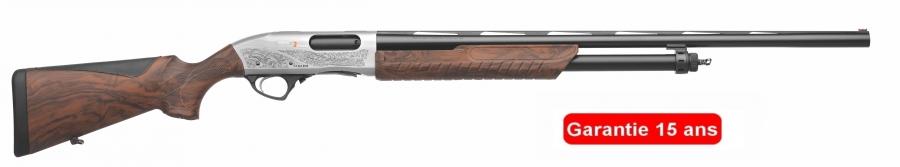 Fusil à pompe FABARM SDASS 2 Chasse GREY cal.12/76 (canon de 71cm)