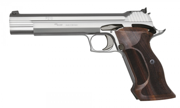 Pistolet SIG SAUER P210 Super Target Inox cal.9x19