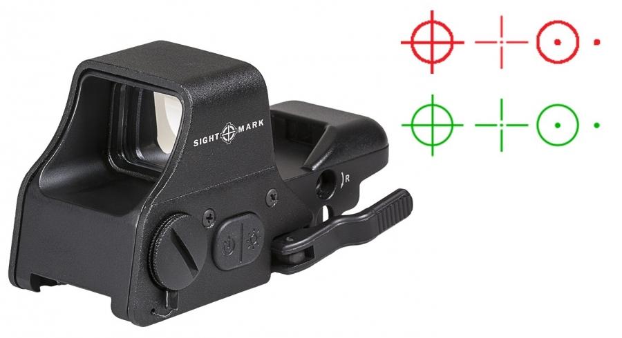 Viseur point rouge SIGHTMARK Ultra Shot Plus Noir Multi-Réticule