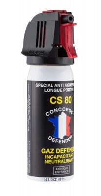 Bombe de défense Gaz CS 80 - 50 ml