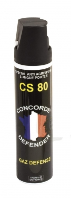 Bombe de d�fense Gaz CS 80 - 75 ml