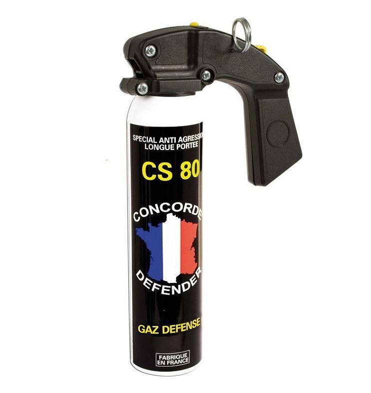 Bombe de d�fense Gaz CS 80 - 300 ml