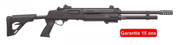 Fusil � pompe FABARM STF12 T�lescopique Tactical Professionnal cal.12/76