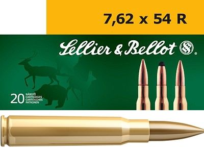 Sellier Bellot cal.7.62x54R FMJ
