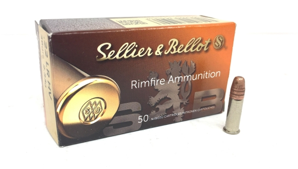 SELLIER & BELLOT 22Lr HV (grande vitesse) /50