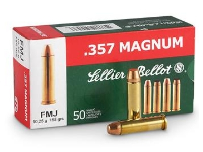 SELLIER BELLOT cal.357 Magnum FMJ