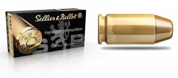 SELLIER BELLOT cal.40 S&W FMJ