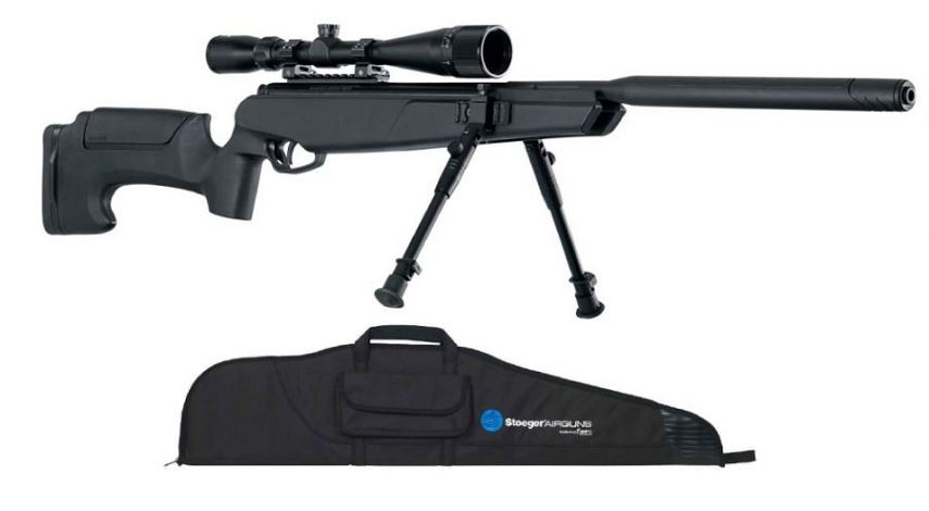 Carabine STOEGER ATAC Suppressor S2 ''TACTICAL'' avec Lunette , Bipied et Housse