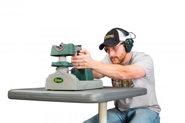 Chevalet support de tir CALDWELL PISTOLERO pour pistolet et revolver