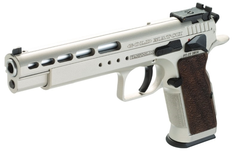 Pistolet TANFOGLIO Gold Match Stainless calibre 9x19