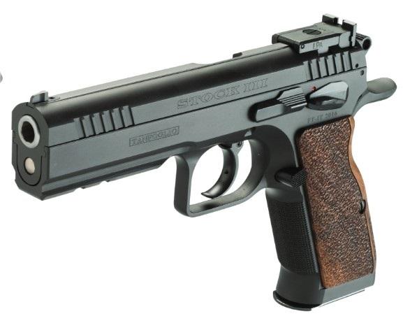 Pistolet TANFOGLIO Stock III Bronzé calibre 9x19