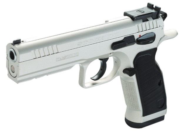 Pistolet TANFOGLIO Stock III Spécial Stainless calibre 9x19