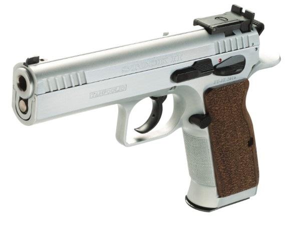 Pistolet TANFOGLIO Stock II Stainless calibre 9x19