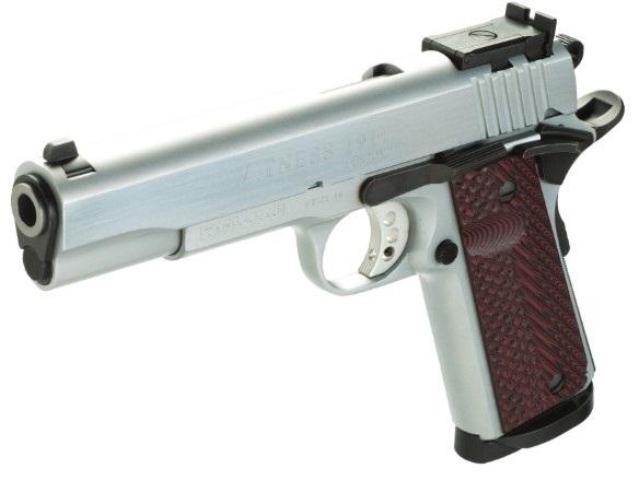 Pistolet TANFOGLIO Witness 1911 Custom Stainless calibre 9x19
