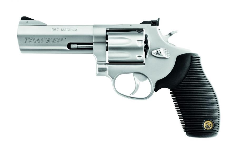 """Revolver TAURUS 627 TRACKER 4"""" Inox calibre 357 Magnum"""
