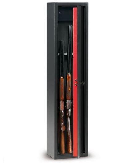 Armoire à fusils TCH/4 - 5 armes (coffre intérieur)