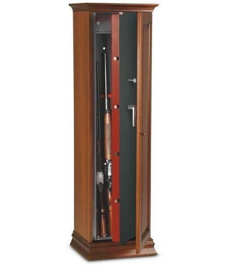 Armoire � fusils TCH/5L - 5 armes  (coffre int�rieur)