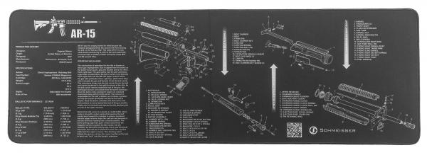 Tapis de travail SCHMEISSER AR-15