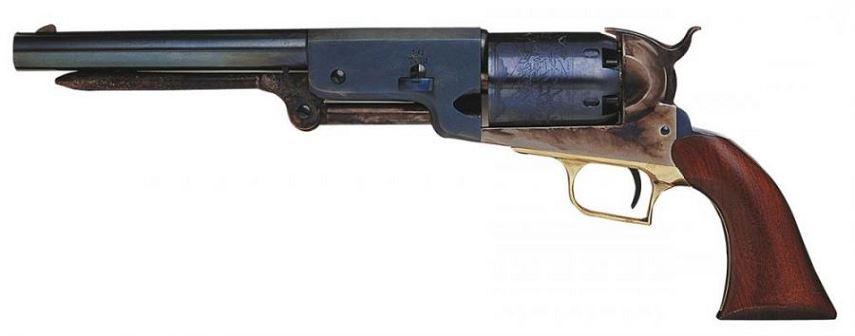 Revolver � Poudre Noire Uberti COLT 1847 Walker Bleuie Cal. 44