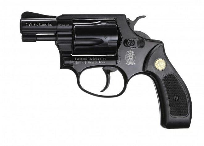 Revolver SMITH-WESSON Chiefs Spécial Bronzé cal.9mm R UMAREX