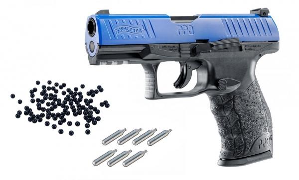 WALTHER PPQ M2 Blue RAM cal.43 ''UMAREX'' Pack défense