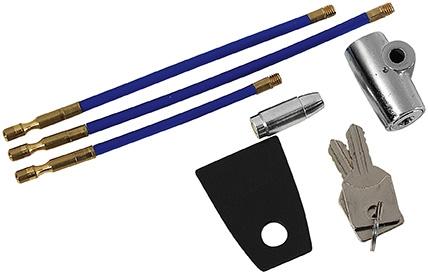 Cadenas de securit� pour armes de poing cal.45 ACP