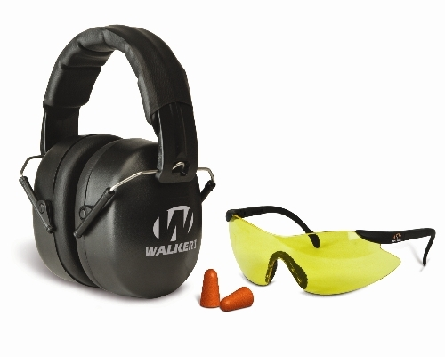 Casque anti-bruit WALKER'S Ext Safety Combo Kit