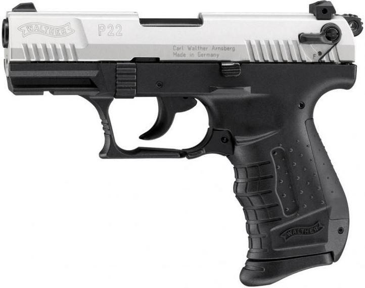 Pistolet WALTHER P22 Bicolore cal.9mm UMAREX