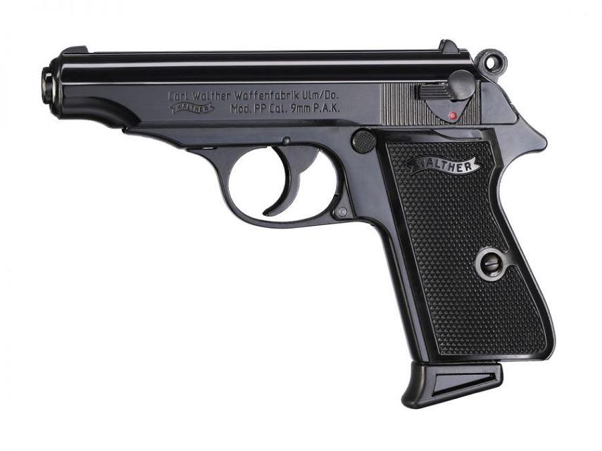 Pistolet WALTHER PP Bronz� cal.9mm UMAREX